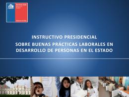 instructivo presidencial sobre buenas prácticas laborales