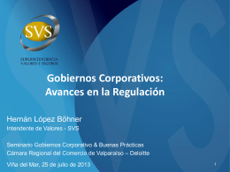 Seminario Gobiernos Corporativo & Buenas Prácticas