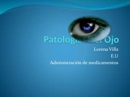 Patologas del Ojo