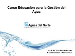 Curso Educación Gestión del Agua 1