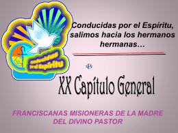 XX Capítulo General, un nuevo EMAÚS* EN EL CAMINO