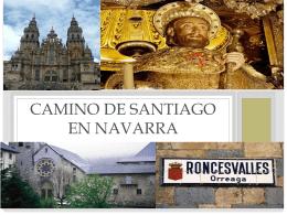 CAMINO DE SANTIAGO EN NAVARRA
