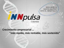 PRESENTACION GENERAL INNPULSA Julio