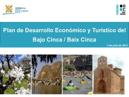 resumen plan desarrollo económico y turístico de la comarca bajo