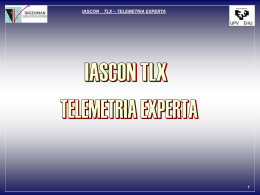 IASCON. TLX – Telemetría experta (Presentación) ( ppt , 385.50 KB )