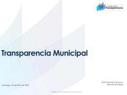 Diapositiva - Academia de Capacitación Municipal y Regional