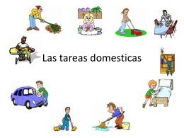 Las tareas domesticas