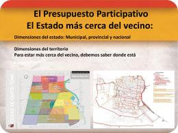 El Estado más cerca del vecino - Municipalidad de la Ciudad de