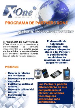nuestro programa de Partners