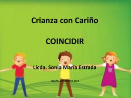 Taller Crianza con Cariño con educadores de COINCIDE