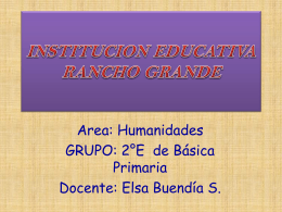 INSTITUCION EDUCATIVA RANCHO GRANDE