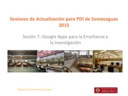 Google Apps para educación e investigación
