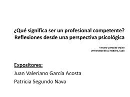 ¿Qué significa ser un profesional competente - upn283