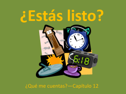 ¿Estás listo? - Scots Spanish 1