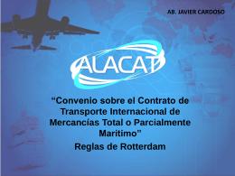 Convenio sobre el Contrato de Transporte Internacional