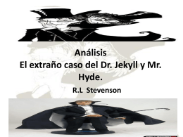 El doctor Jekyll y Mr Hyde