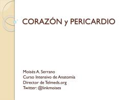 CORAZÓN y PERICARDIO