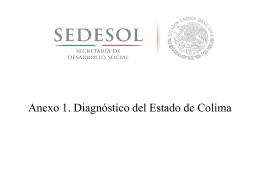 Diagnóstico del Estado de Colima