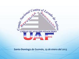 COMITE NACIONAL CONTRA EL LAVADO DE