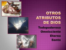 5. otros atributos - Iglesia Cristiana La Serena