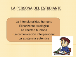 La Persona del Estudiante - Cecilia-TIC