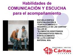 Comunicación y Escucha