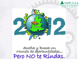 Punto de Equilibrio - IMPULSA Puebla Tlaxcala