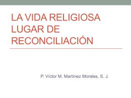 Autoridad y reconciliación desde la Sagrada Escritura. P. Víctor