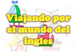 clase de ingles para primero b version 2007