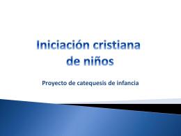 Iniciación Cristiana de Niños