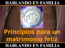 HABLANDO EN FAMILIA HABLANDO EN FAMILIA