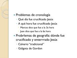 La Última Semana de Jesús