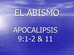 EL ABISMO - Nuevo Pacto Dallas