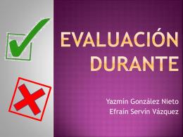 Evaluación Durante