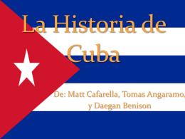 La Historia Precolombina de Cuba