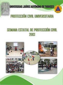Semana Estatal de Protección Civil 2013