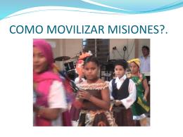 Movilizar misiones