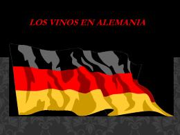 Los vinos en Alemania