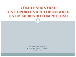 como encontrar una oportunidad estrategica en un mundo competitivo