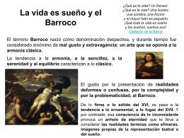 Calderón y La vida es sueño - Materiales de Lengua y Literatura