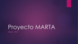 Proyecto MARTA PPP