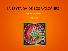 LA LEYENDA DE LOS VOLCANES
