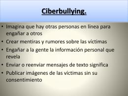 Basta de bullying ignacio vincenzi y nicolas audcio