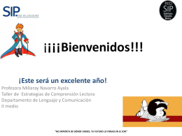 presentacion taller lenguaje 2