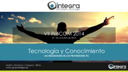 Descargar presentación de Grupo Integra