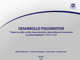 Desarrollo Psicomotor (Final)