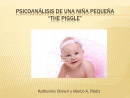 Psicoanálisis de una niña pequeña *The Piggle*