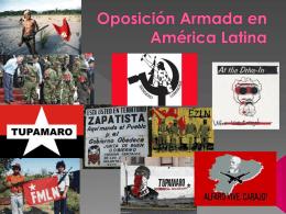 Oposición Armada en América Latina