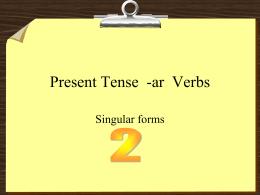 Plural -AR verbs PowerPoint Practice