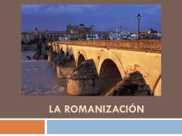 La romanizacion